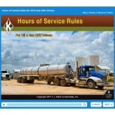 Hours of Service Rules for Oil & Gas CMV Drivers - Online Training Course